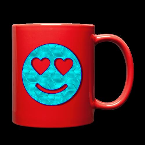 Smiley Love-Blue - Full Color Mug