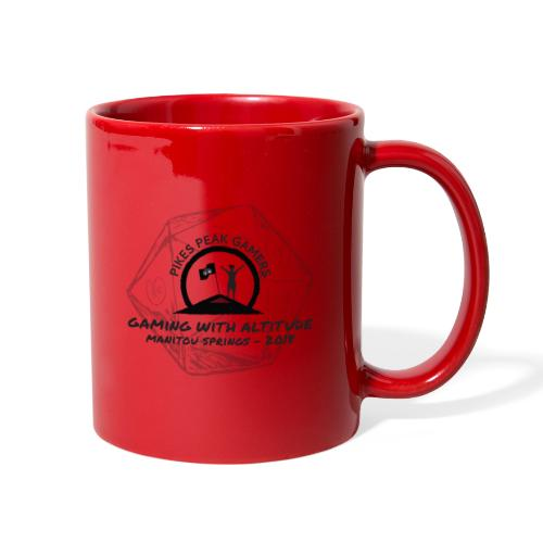 Pikes Peak Gamers Convention 2018 - Accessories - Full Color Mug