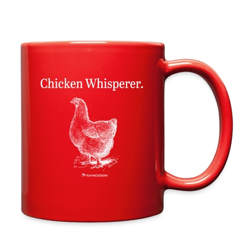 Chicken Whisperer With Chicken - Full Color Mug