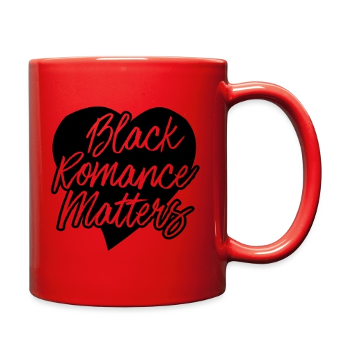 Black Romance Matters Tee - Full Color Mug
