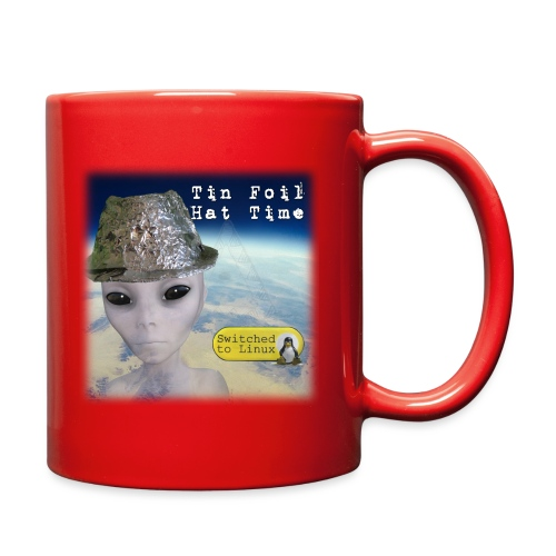 Tin Foil Hat Time (Earth) - Full Color Mug