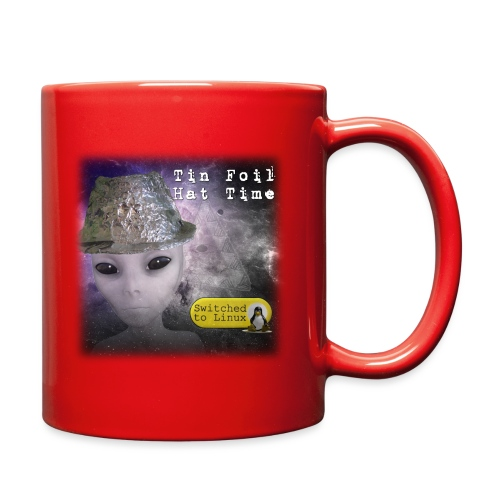 Tin Foil Hat Time (Space) - Full Color Mug
