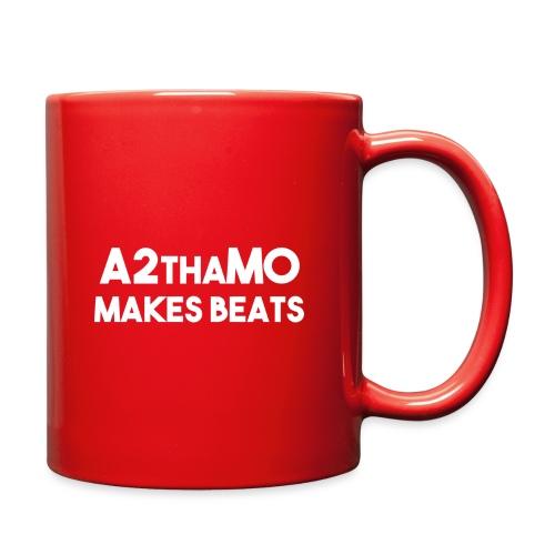 A2thaMoMakesBeats Logo White - Full Color Mug