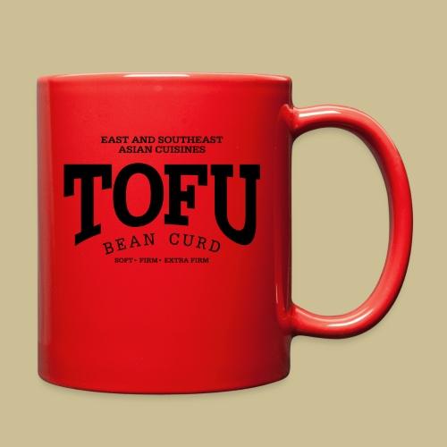 Tofu (black) - Full Color Mug