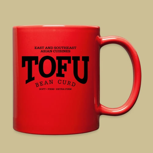 Tofu (black) - Full Color Mug