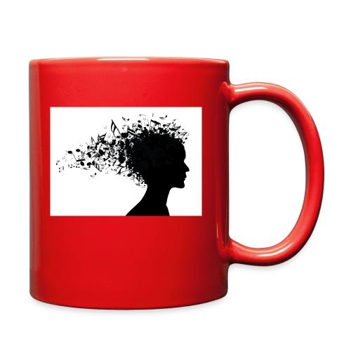 music through my head - Full Color Mug