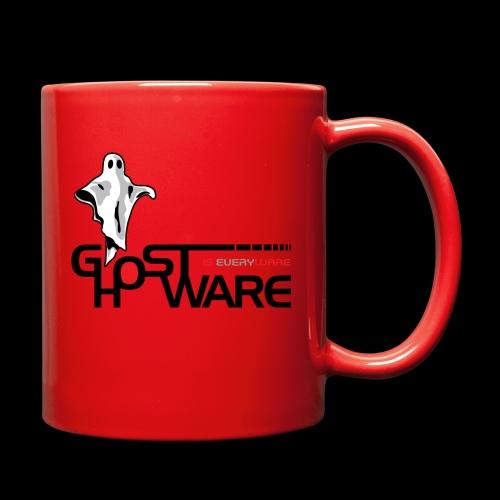 Ghostware Wide Logo - Full Color Mug