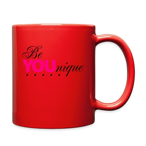 Be Unique Be You Just Be You - Full Color Mug