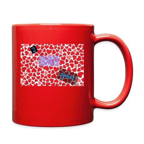 2 hearts apart - Full Color Mug