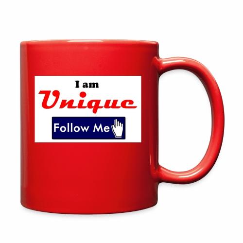 I am Unique - Follow Me Series. - Full Color Mug