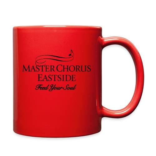 Master Chorus Eastside logo in black - Full Color Mug