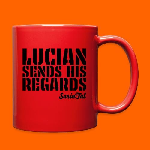 Lucian's Regards Dark - Full Color Mug