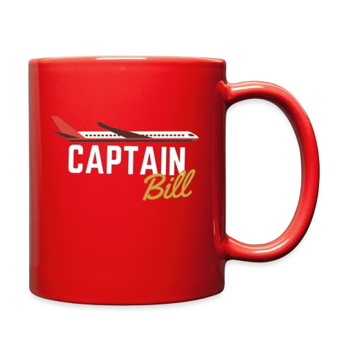 Captain Bill Avaition products - Full Color Mug