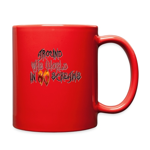 Around The World in 80 Screams - Full Color Mug