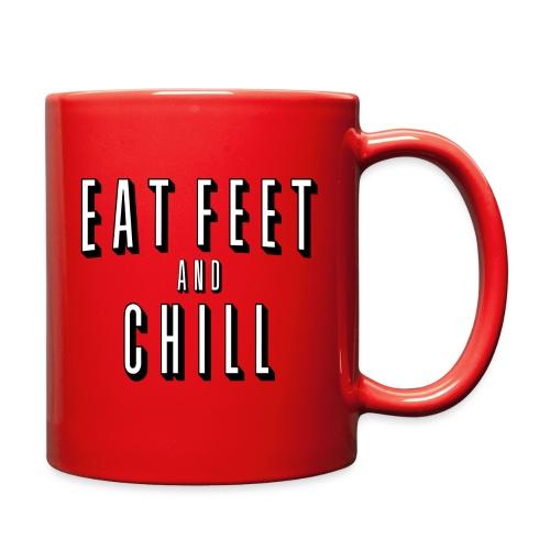 EAT FEET AND CHILL - Full Color Mug