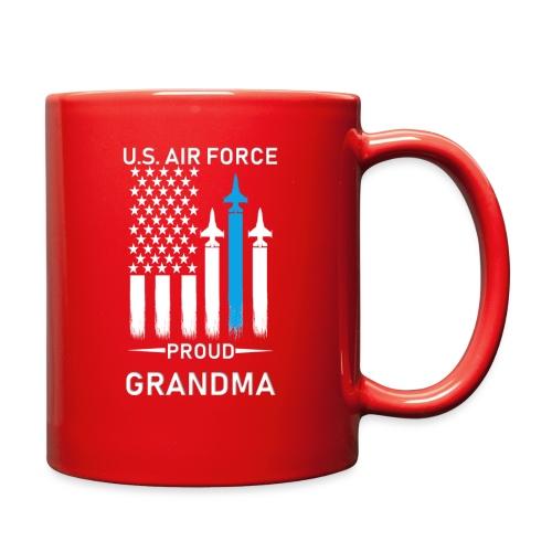 Proud Air Force Grandma - Full Color Mug