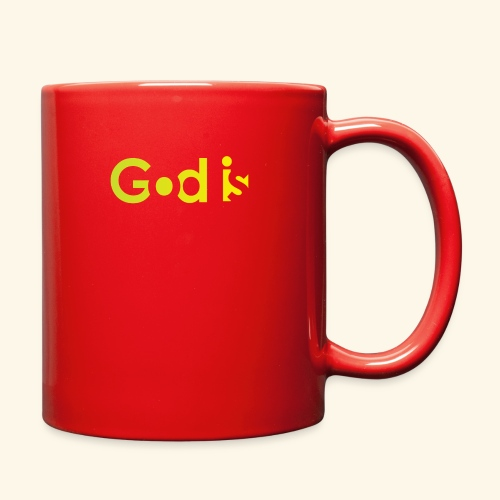 GOD IS #7 - Full Color Mug