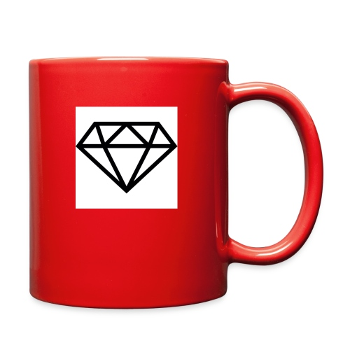 diamond outline 318 36534 - Full Color Mug