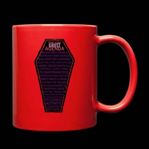 Gay Ghost Agenda - Full Color Mug