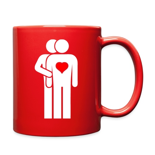MAN LOVE HEART No. 002 - Full Color Mug