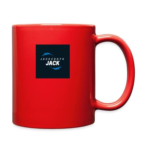 JackCodyH blue lightning bolt - Full Color Mug