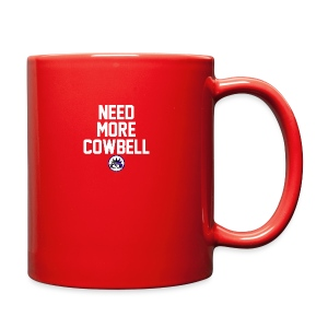 Need More Cowbell CK Collection in White Letters - Full Color Mug