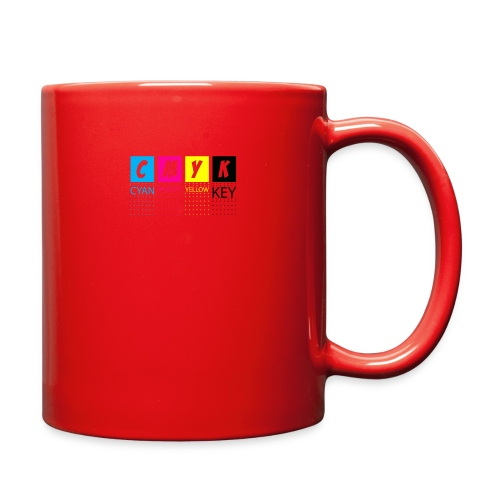 CMYK T SHIRTS - Full Color Mug