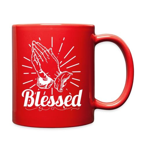 Blessed (White Letters) - Full Color Mug