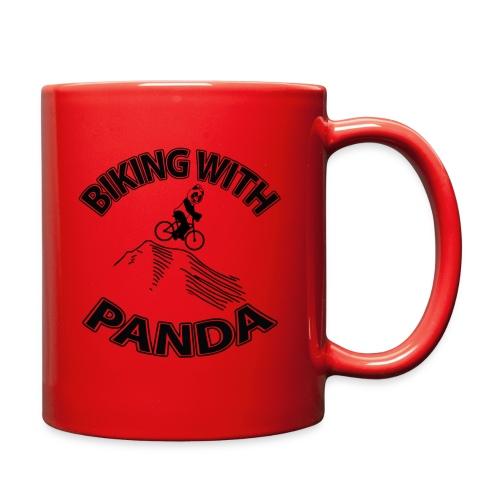 Biking with Panda - Full Color Mug