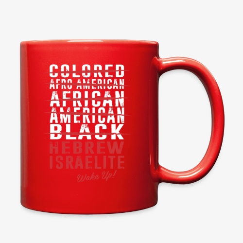 Hebrew Israelite - Full Color Mug