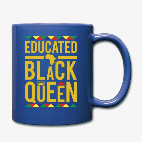 Educated Black Queen - Full Color Mug