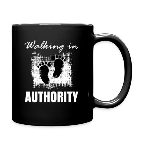 Walking in authority - Full Color Mug