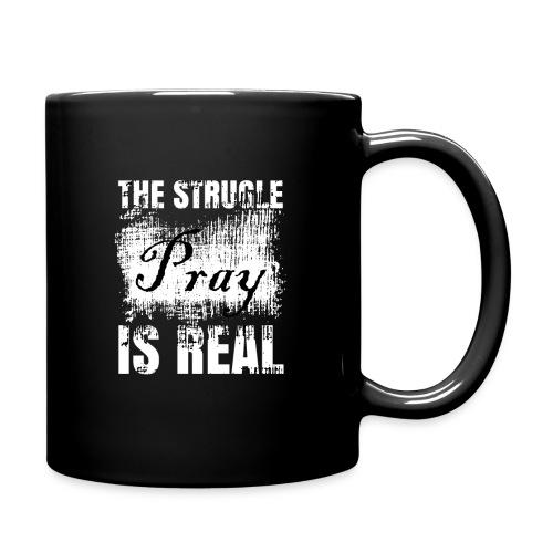 The struggle is real - Full Color Mug