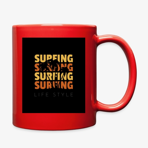 Surfing Life Style - Full Color Mug