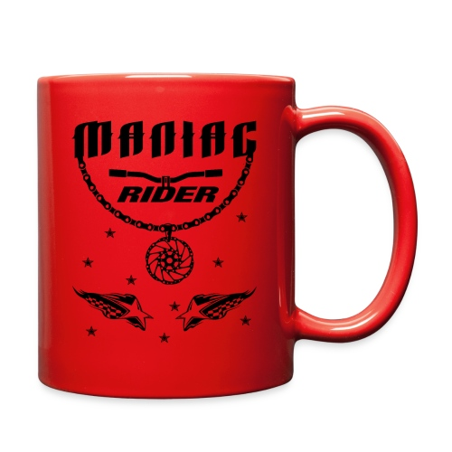 Maniac Rider Downhill Mountainbike bike-rider - Full Color Mug