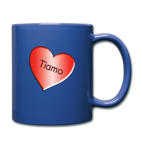 Tiamo I love you - Full Color Mug