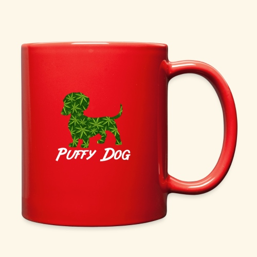PUFFY DOG - PRESENT FOR SMOKING DOGLOVER - Full Color Mug
