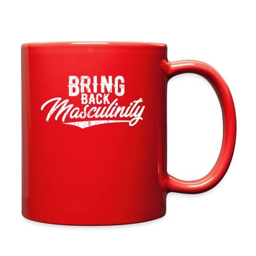 Bring Back Masculinity White Logo - Full Color Mug