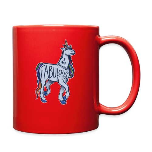 I am fucking fabulous - Full Color Mug