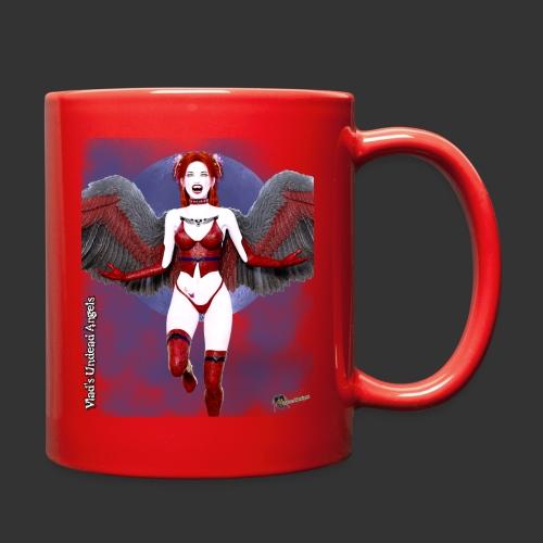 Undead Angels By Moonlight Vamp Cupid Scarlet 1 - Full Color Mug