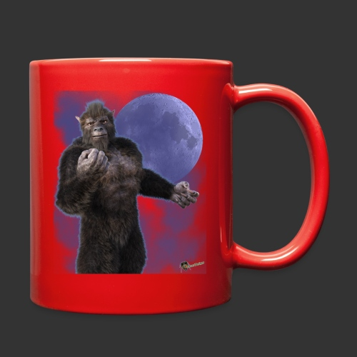 Undead Angels By Moonlight: Wolf Beast - Full Color Mug