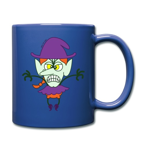 Scary Halloween Witch - Full Color Mug