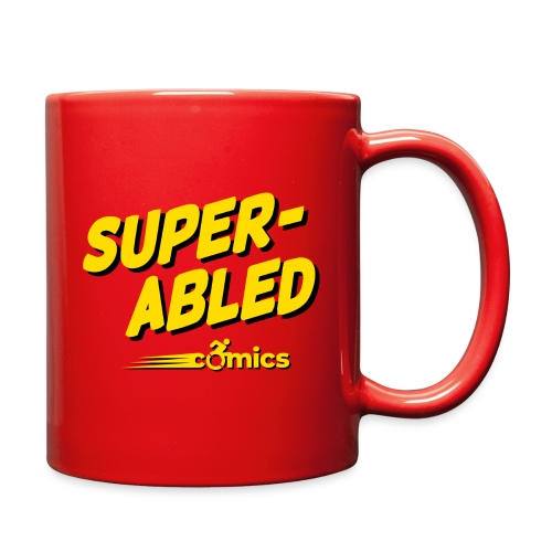Super-Abled Comics - yellow/black - Full Color Mug