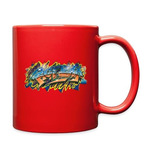RSB Mural T shirt w/ Black RSB Logo - Full Color Mug