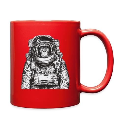 Monkey Astronaut - Full Color Mug