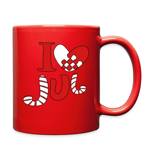 i love jul - Full Color Mug