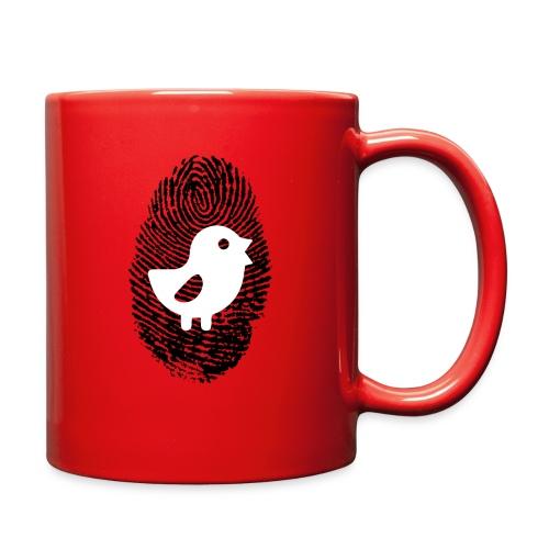 Chick Finger Print - Full Color Mug
