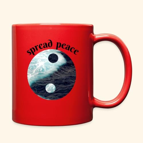 spread peace - Full Color Mug