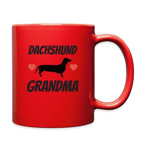 Dachshund Grandma - Full Color Mug