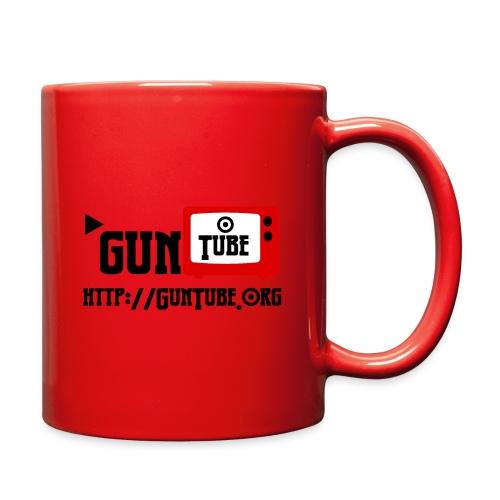 GunTube Shirt with URL - Full Color Mug